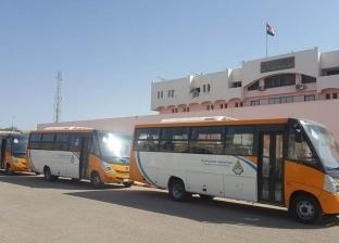 نورالدين: توفير 4 أتوبيسات لنقل المواطنين إلى أسيوط الجديدة