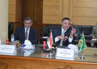 رئيس جامعة بنها يشهد اجتماع اللجنة العليا لتطوير التعليم