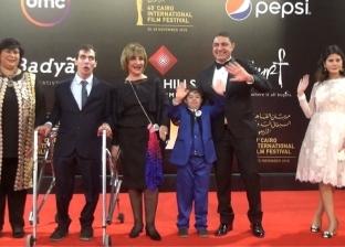 وزيرتا الثقافة والتضامن مع ذوى القدرات الخاصة في مهرجان القاهرة السينمائي