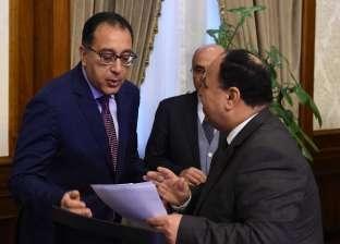 مدبولي يفتتح مركز الخدمات اللوجستية بميناء القاهرة الجوي