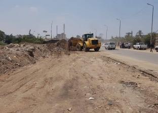 محافظ الجيزة: رفع كفاءة طريق المريوطية وتمهيده لبدء أعمال الرصف