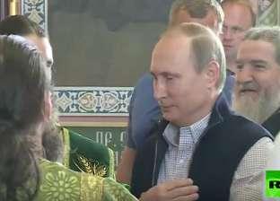 بالفيديو| بوتين يطالب الرهبان بالصلاة من أجل قتلى الجيش الروسي بسوريا
