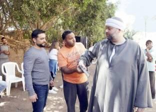 رؤوف عبدالعزيز: استوحيت فكرة «طاقة نور» من عمر بن الخطاب