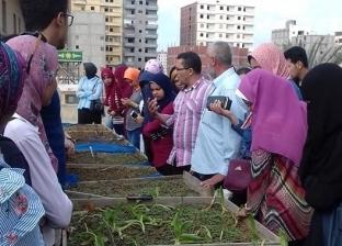 """""""زراعة الإسكندرية"""" تنظم دورة تدريبية لطلاب """"سابا باشا"""""""
