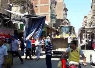 """""""تنفيذي بورسعيد"""" تواصل حملة إزالة الإشغالات لليوم الثالث"""