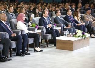 «السيسى» بافتتاح مؤتمر الشباب: الشعب البطل الحقيقى فى عملية الإصلاح
