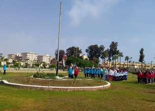 بدء الأنشطة الصيفية بمعسكر الطلاب الدائم بجمصة لجامعة المنصورة