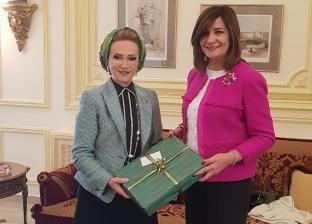 زوجة رئيس البرلمان اللبناني: جهود مصر بارزة لحل مشاكل أبنائها بالخارج