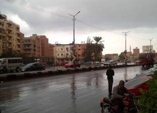 بالصور| أمطار متوسطة على مدن ومراكز وقرى الغربية