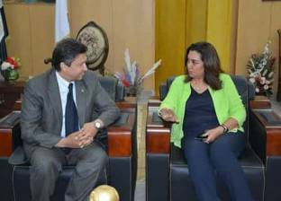 محافظ دمياط تستقبل وزير الشباب لبحث دعم المنشآت الرياضية