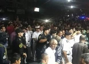 حملة أمنية موسعة لرفع الإشغالات بشارع العشريني في الإسماعيلية