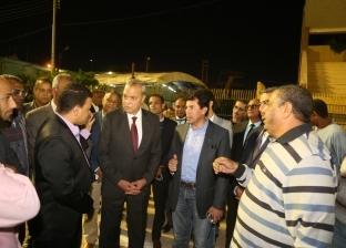 وزير الرياضة يتفقد نزل الشباب ونادي الفتيات في ختام زيارته لقنا