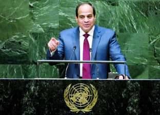 «السيسى» يستعرض فى الأمم المتحدة أزمة اللاجئين والقضايا الإقليمية والدولية