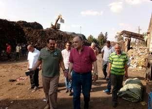 برلماني يشيد برفع 12 ألف طن قمامة بمصنع تدوير في المحلة