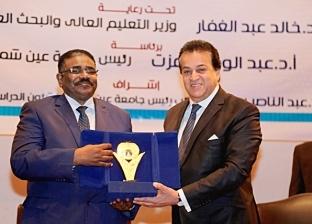 «عبدالغفار»: اتفاقيات بين مصر والسودان بمجالات الطاقة والمياه والزراعة