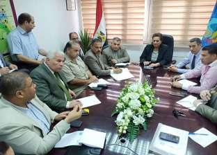 محافظة البحيرة تبحث استعدادات الاحتفال بالعيد القومي للإقليم