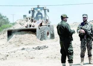 """وفد من """"التشريعي"""" بغزة يتفقد الحدود """"الفلسطينية - المصرية"""""""