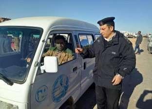 ضبط 109 سيارات نقل مخالفة خلال حملة مرورية في القاهرة