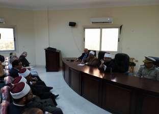 وزير الأوقاف يطالب أئمة مساجد المنيا بترشيد استهلاك الكهرباء والمياه
