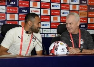 المؤتمر الصحفي لمنتخب مصر قبل مباراة الكونغو