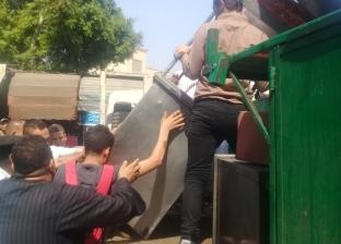 تنيفذ 1700 إزالة إدارية وتحرير 603 محاضر في حملات إشغالات بالقاهرة