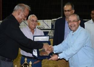 محافظ بورسعيد يشهد نهائي بطولة الجمهورية للكرة الطائرة الشاطئية
