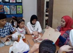 """تعليم الفرنسية للأطفال وفن الأركت بـ""""ثقافة أحمد بهاء الدين"""""""