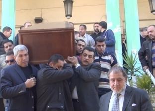"""بدء مراسم عزاء كاميليا السادات بمسجد """"الرحمن الرحيم"""""""