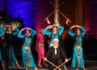 """فرقة رضا للفنون الشعبية تمثل مصر فى مهرجان """"جرش"""""""