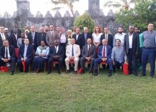 نائب رئيس زنجبار يستقبل وفد اتحاد الصناعات المصري