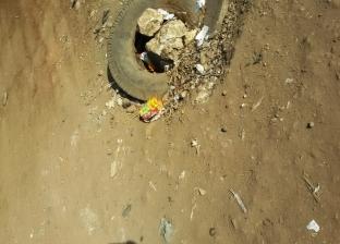 أهالي شطانوف بأشمون يشكون من اختفاء بعض أغطية غرف المياه