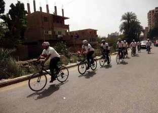 """""""الإسكان"""" تنظم ماراثون دراجات بـ""""الأسبوع المائي"""" في سوهاج"""