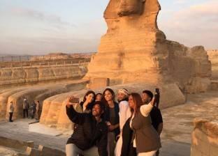 """تنشيط السياحة: زيارة """"سميث"""" للأهرامات دعاية جديدة للسياحية المصرية في الخارج"""