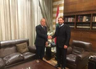 أبوالغيط يؤكد دعمه لجهود الحريري لتشكيل الحكومة في لبنان