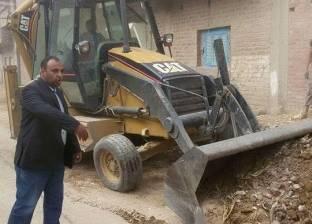 حملة نظافة مكبرة بمركز أخميم في سوهاج