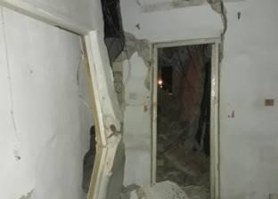 إصابة عامل بارتجاج بالمخ إثر انهيار سقف استوديو بحي الزيتون