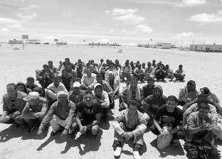 الأجهزة الأمنية تضبط 16 مهاجرا غير شرعي بالسلوم