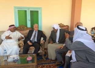 """مشايخ قرية """"رأس مسلة"""" يطالبون المحافظ بخمس محولات كهرباء لري المزارع"""