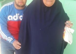 بالصور  ذوي الإعاقة يتصدرون لجان الاستفتاء بقرية السنانية في دمياط