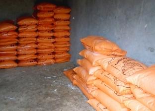 ضبط طن أسمدة زراعية مدعمة قبل بيعها في السوق السوداء بالشرقية