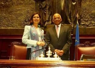 «النواب» يتسلم رئاسة «برلمانية الاتحاد من أجل المتوسط» من البرلمان الإيطالى