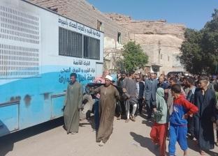بالصور  محافظ أسيوط: إنشاء مستشفى ميداني متنقلة لخدمة أهالي عزبة سعيد