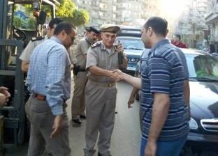"""إزالة إشغالات طريق """"سعد زغلول"""" بالإسكندرية"""