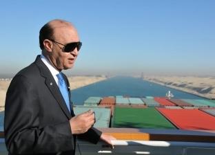 مميش: حركة الملاحة تحقق رقما قياسيا بعبور 68 سفينة