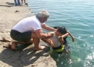 """غرق طفل في """"بحر شبين الكوم"""" بالمنوفية"""