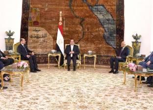 السيسي لوفد برلماني عراقي: نساند جهودكم لاستعادة الأمن والاستقرار