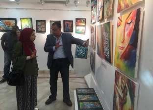"""افتتاح معرض """"لمحات تشكيلية"""" الفني بقصر الأنفوشي في الإسكندرية"""