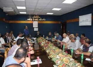 ميناء دمياط يناقش مع ممثلي الشركات العامة سبل رقابة البضائع وخطة مكافحة الحريق
