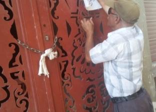 محافظ السويس يشمع عقارا لانتهاكه القانون ببناء دور مخالف