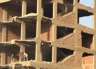 بدء إزالة عقار بشارع 26 يوليو ضمن خطة تطوير ماسبيرو